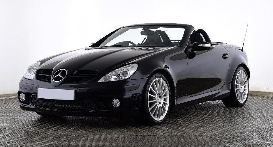 2006 Mercedes-Benz SLK55 AMG Black (26000 miles) For Sale (picture 1 of 6)