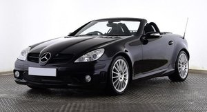 2006 Mercedes-Benz SLK55 AMG Black (26000 miles) For Sale