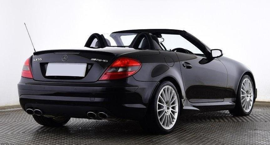 2006 Mercedes-Benz SLK55 AMG Black (26000 miles) For Sale (picture 2 of 6)