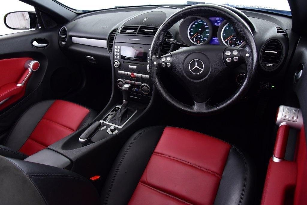 2006 Mercedes-Benz SLK55 AMG Black (26000 miles) For Sale (picture 5 of 6)