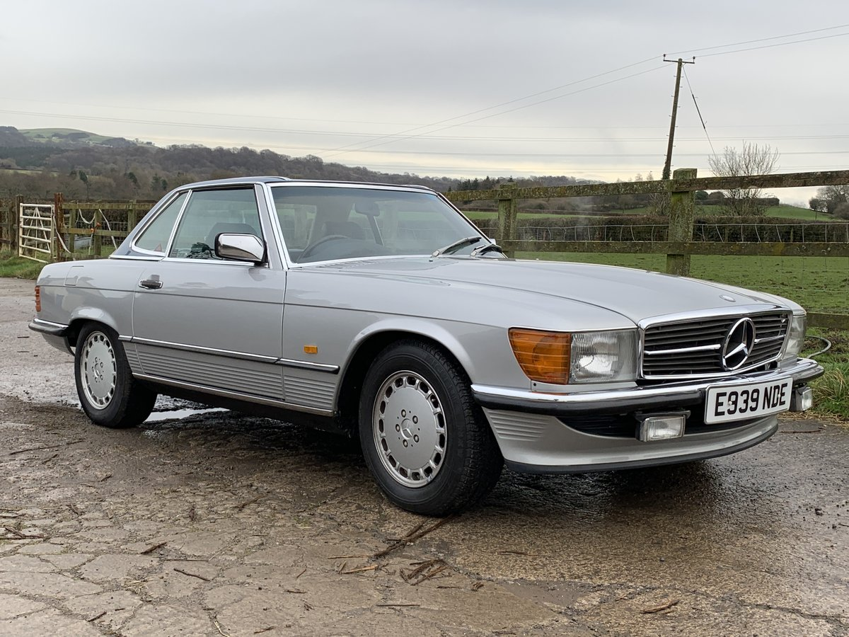 1987 1 family owned SL 300 Mercedes SOLD (picture 2 of 6)