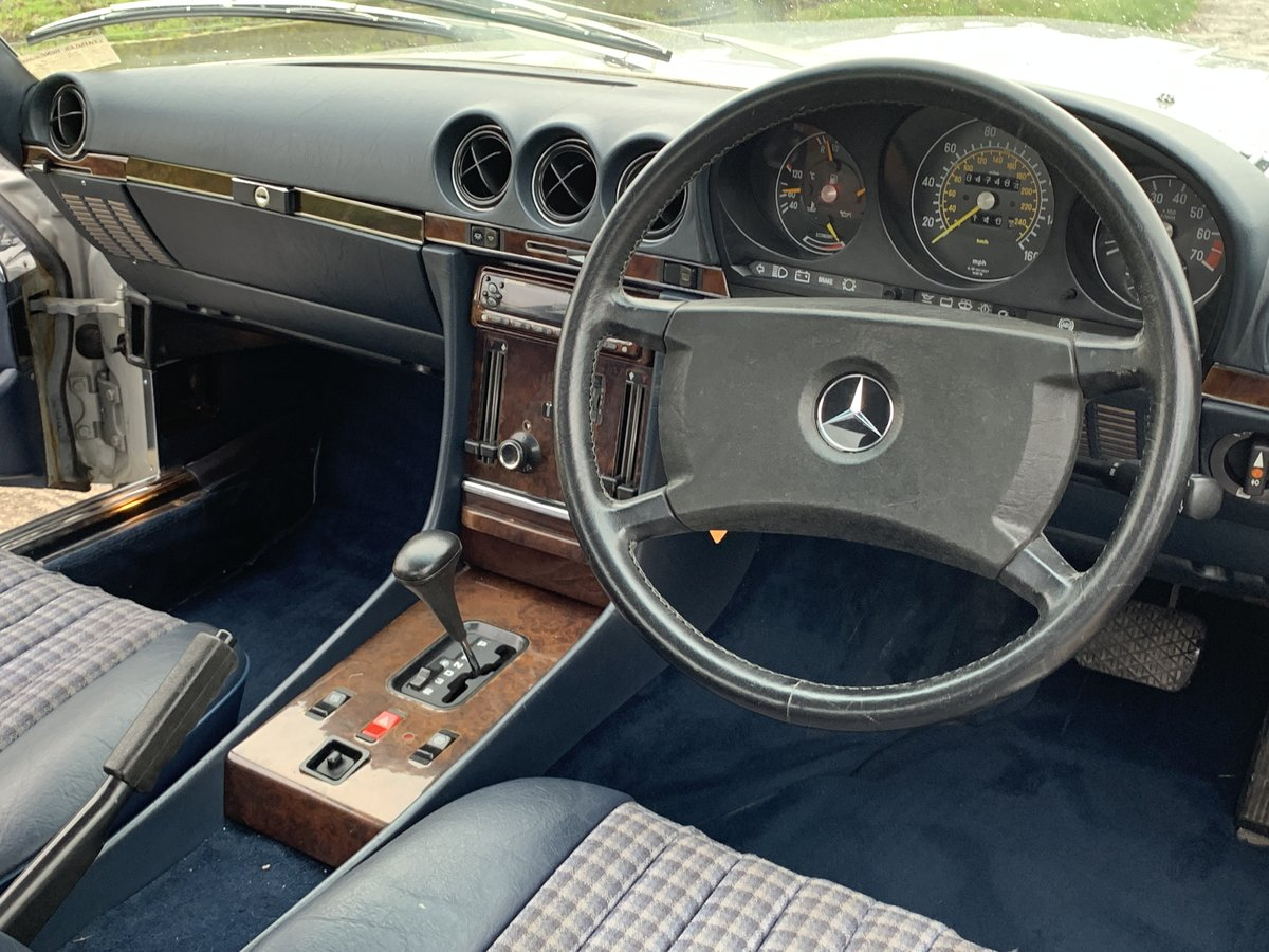 1987 1 family owned SL 300 Mercedes SOLD (picture 4 of 6)