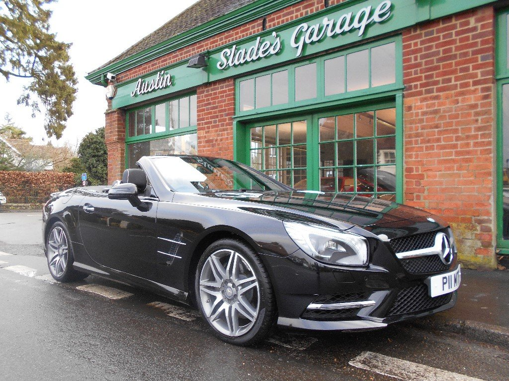 2016 Mercedes SL400  SOLD (picture 2 of 4)