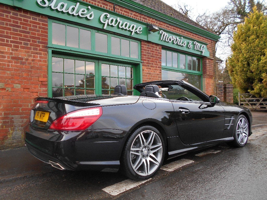 2016 Mercedes SL400  SOLD (picture 3 of 4)