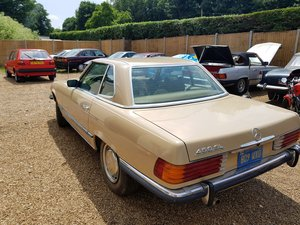 1979 450 SL lhd californian import,just arrived