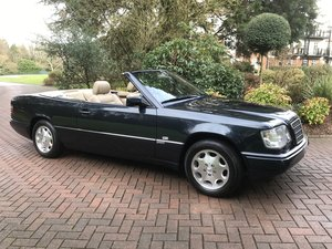 1996 Exceptional One Owner low mileage E320 Sportline Cabriolet! For Sale