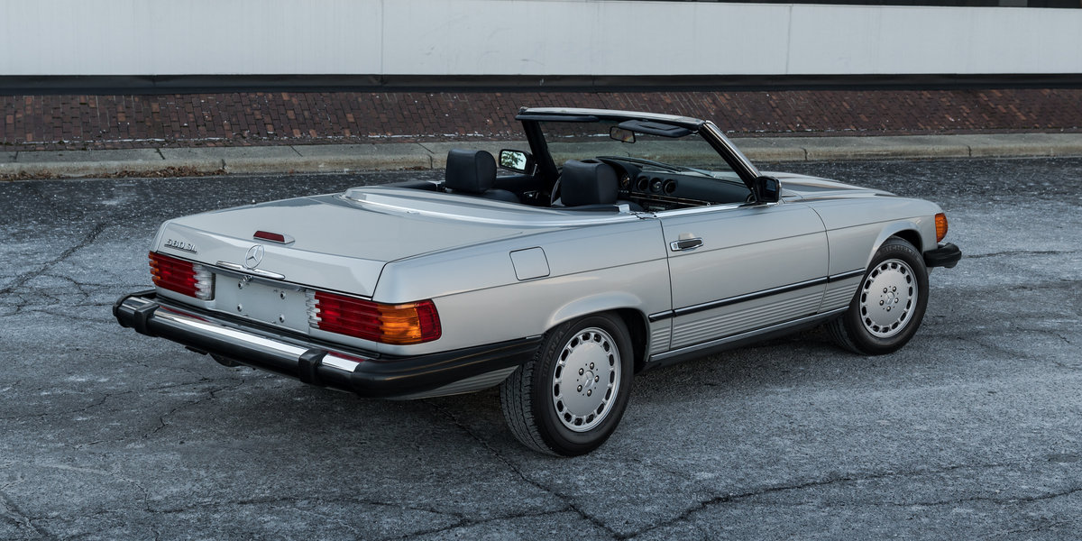 1989 Mercedes 560SL For Sale (picture 3 of 6)