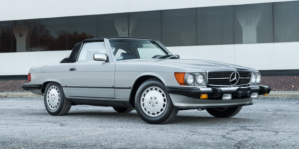 1989 Mercedes 560SL For Sale (picture 4 of 6)