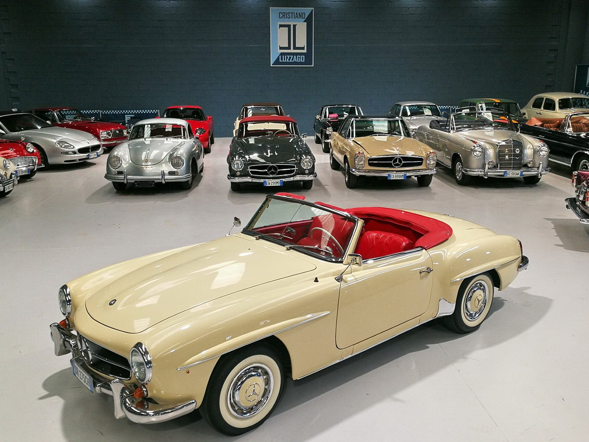1959 MERCEDES-BENZ 190SL For Sale (picture 1 of 6)