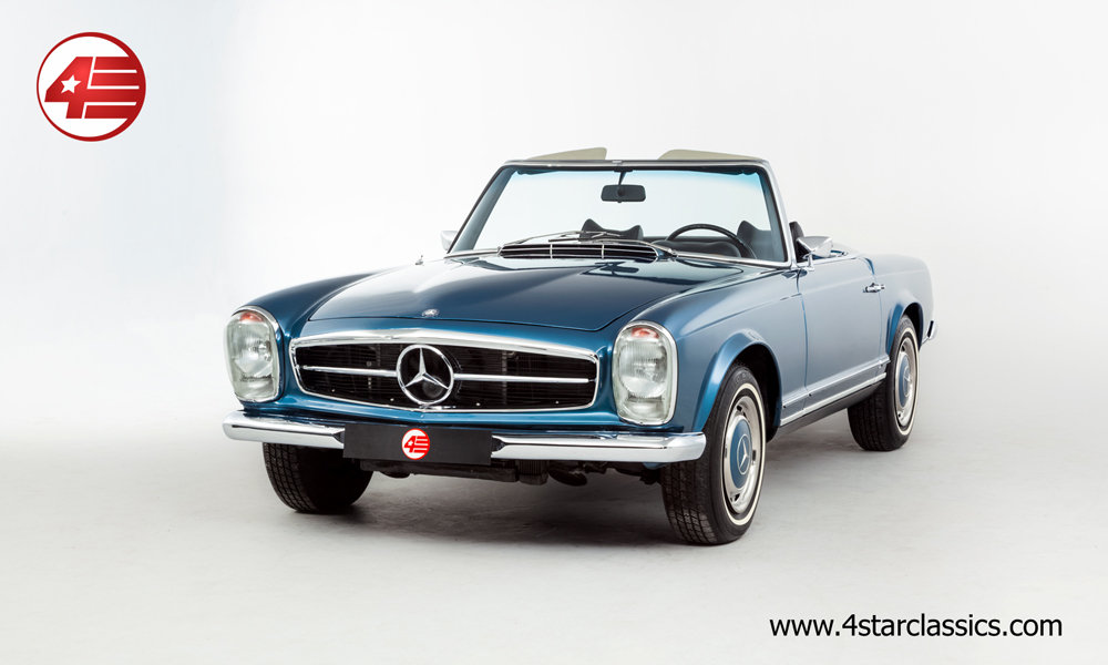 1968 Mercedes 280SL Pagoda LHD Auto W113 /// Beautifully Restored For Sale (picture 1 of 6)
