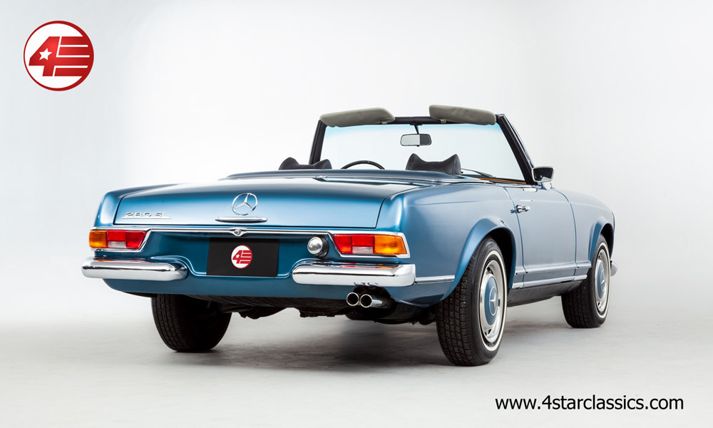 1968 Mercedes 280SL Pagoda LHD Auto W113 /// Beautifully Restored For Sale (picture 3 of 6)