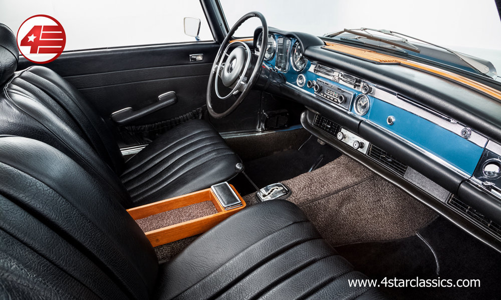 1968 Mercedes 280SL Pagoda LHD Auto W113 /// Beautifully Restored For Sale (picture 4 of 6)