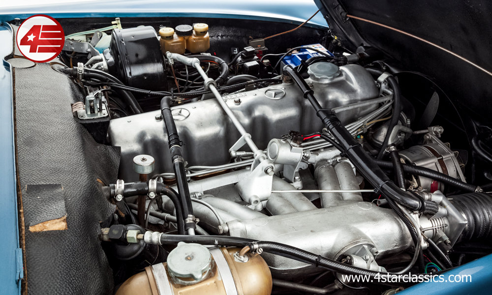 1968 Mercedes 280SL Pagoda LHD Auto W113 /// Beautifully Restored For Sale (picture 6 of 6)