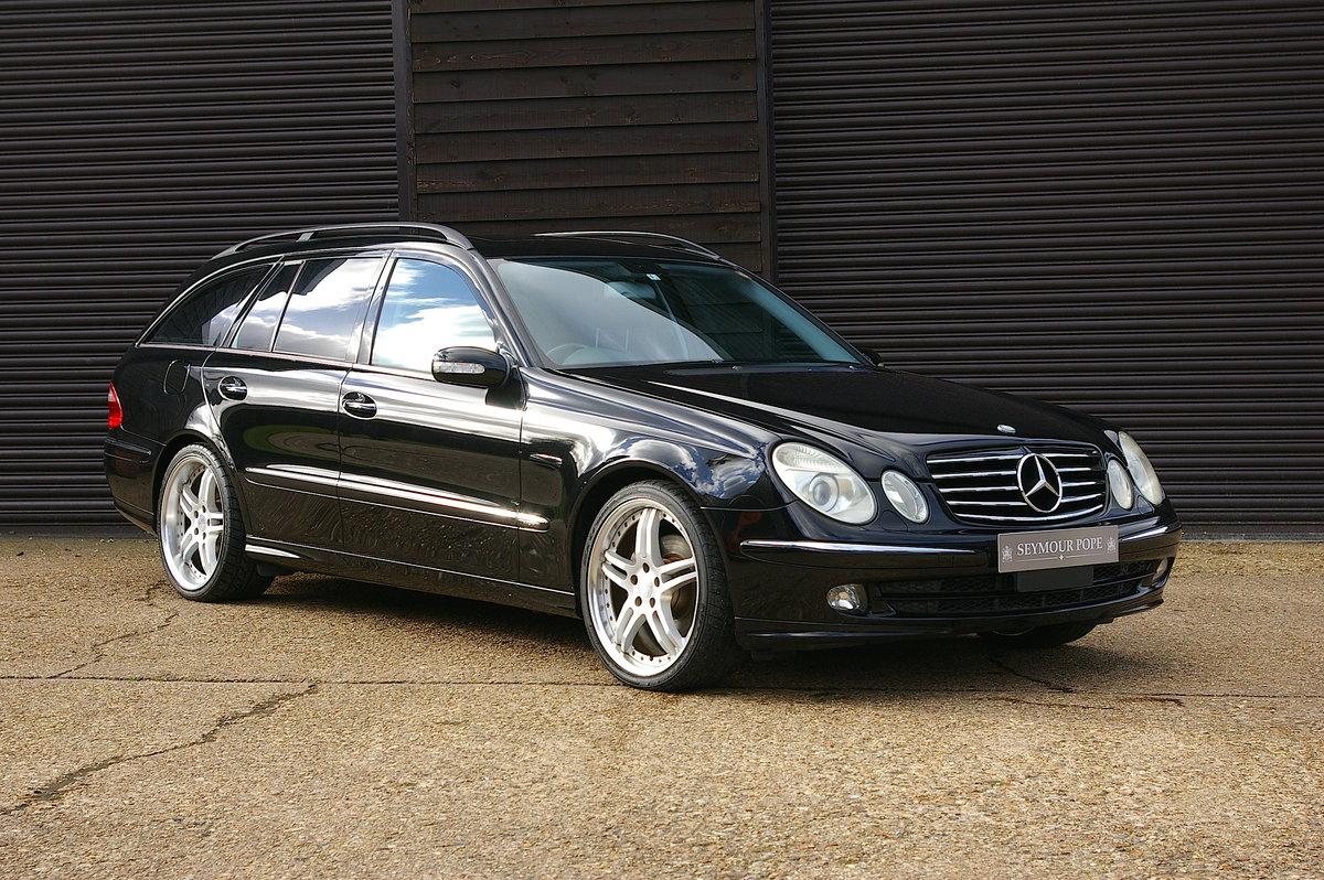 2006 Mercedes E350 Avantgarde 7G-Tronic Estate (43,696 miles) SOLD (picture 1 of 6)