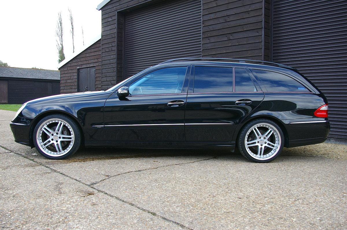 2006 Mercedes E350 Avantgarde 7G-Tronic Estate (43,696 miles) SOLD (picture 2 of 6)
