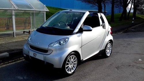 2007 MERCEDES SMART CAR FORTWO PASSION CABRIOLET CONVERTIBLE 1.0