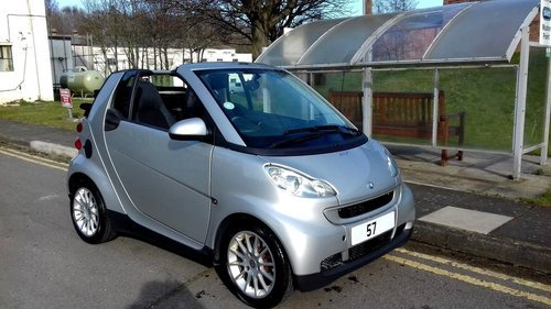 2007 MERCEDES SMART CAR FORTWO PASSION CABRIOLET CONVERTIBLE 1.0  For Sale (picture 2 of 6)