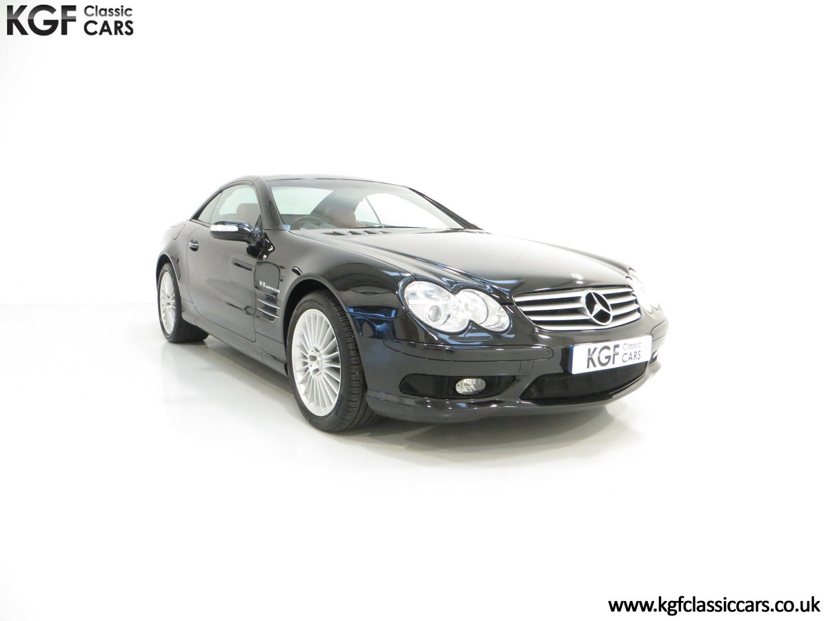 2003 Mercedes-Benz SL55 AMG, 26,517 Miles & Full Mercedes History SOLD (picture 1 of 6)
