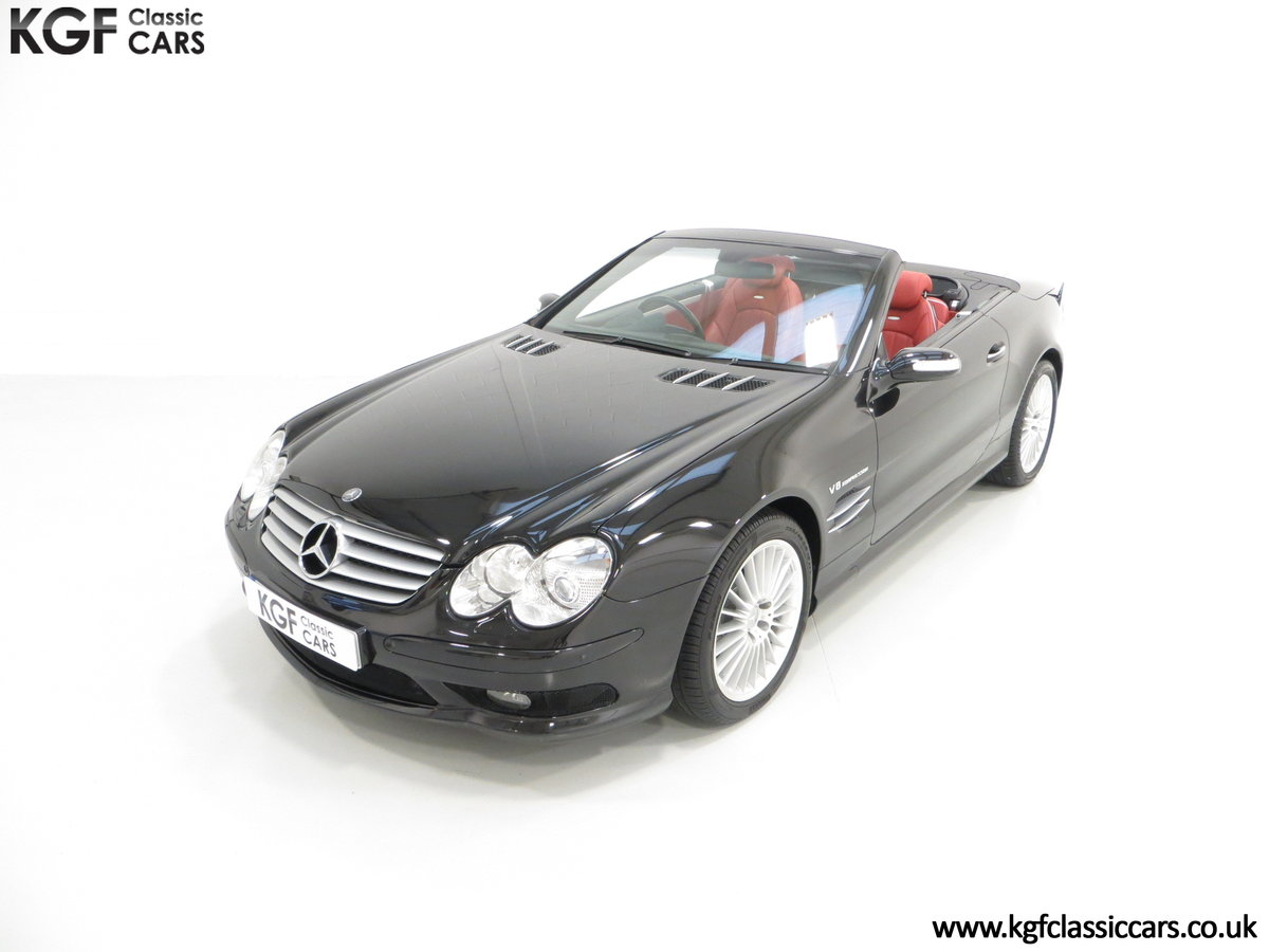 2003 Mercedes-Benz SL55 AMG, 26,517 Miles & Full Mercedes History SOLD (picture 2 of 6)