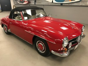 1962 Mercedes 190 SL Roadster in very good overall condition LHD For Sale