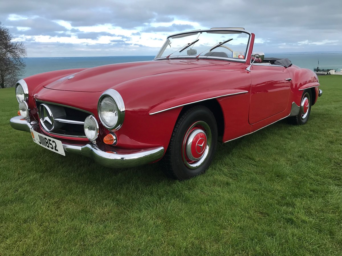 1962 Mercedes 190 SL Roadster in very good overall condition LHD For Sale (picture 2 of 6)