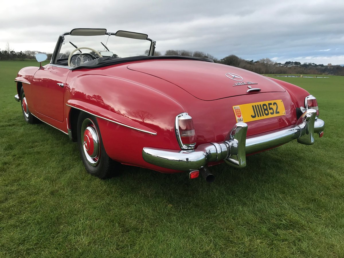 1962 Mercedes 190 SL Roadster in very good overall condition LHD For Sale (picture 4 of 6)