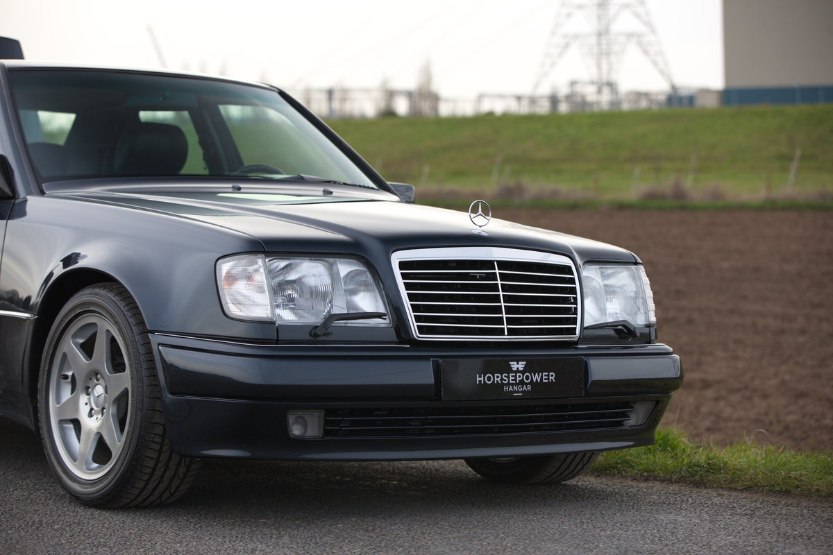 1994 Mercedes-Benz E500 Limited - Incredible History - German Car For Sale (picture 1 of 6)