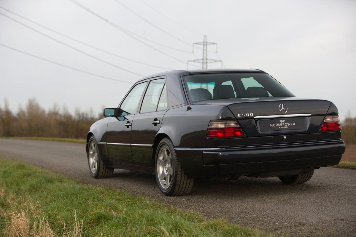 1994 Mercedes-Benz E500 Limited - Incredible History - German Car For Sale (picture 2 of 6)