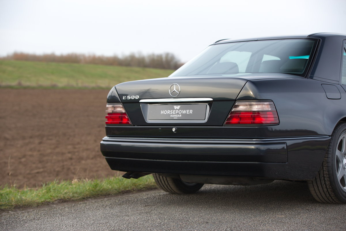 1994 Mercedes-Benz E500 Limited - Incredible History - German Car For Sale (picture 6 of 6)