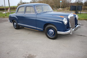 MERCEDES 219 PONTON FOR DOOR SIX CYLINDER 1959 SOLD