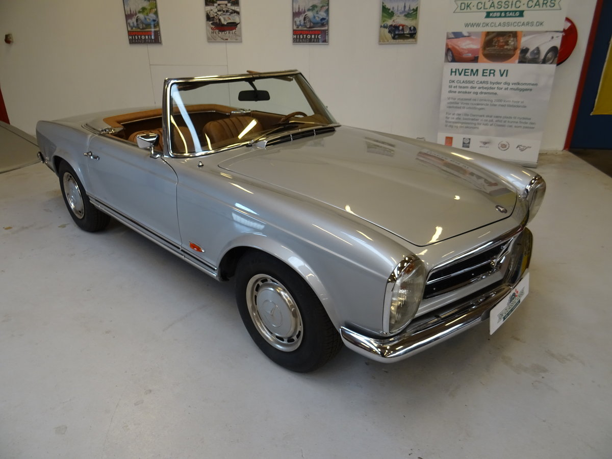 1968 Mercedes-Benz 280SL Pagode For Sale (picture 1 of 6)