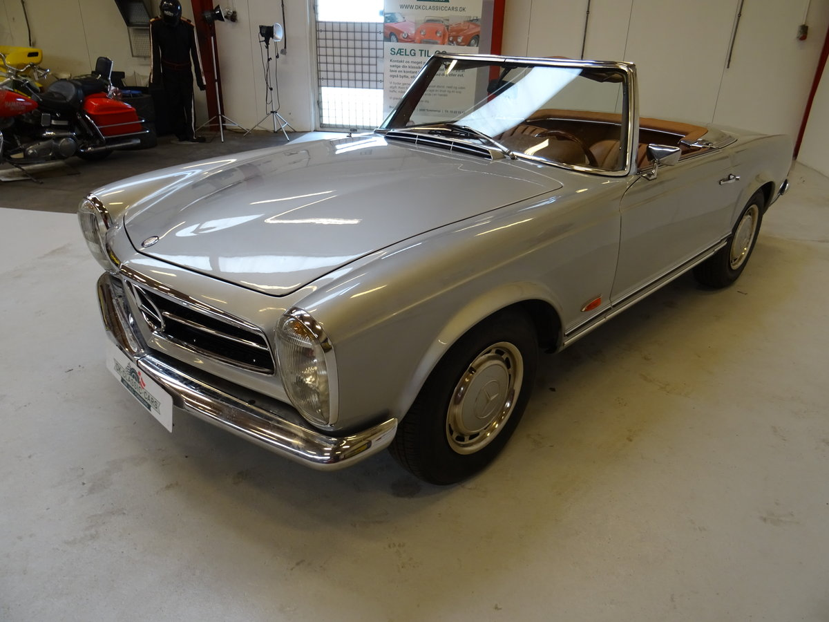 1968 Mercedes-Benz 280SL Pagode For Sale (picture 2 of 6)