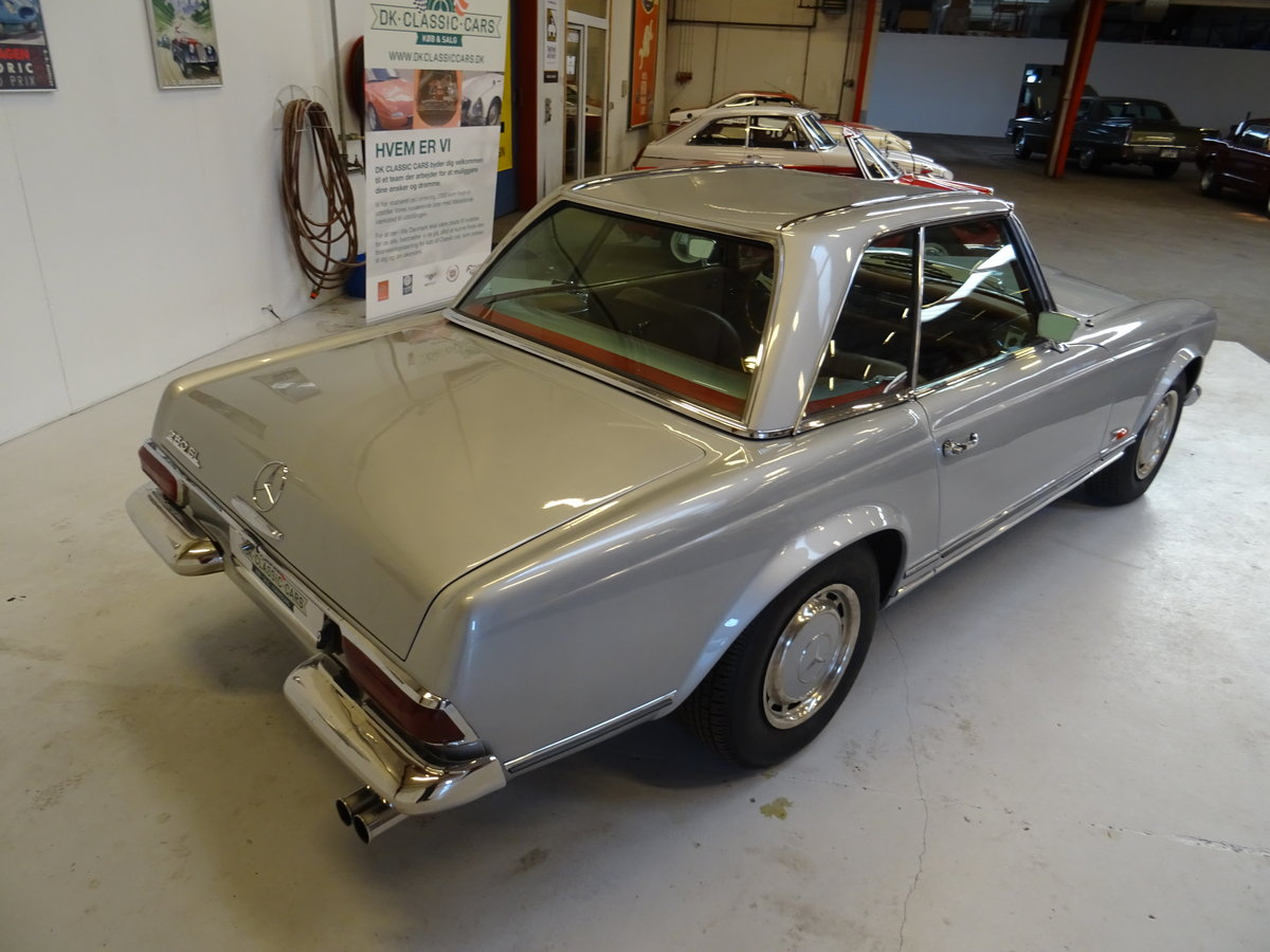 1968 Mercedes-Benz 280SL Pagode For Sale (picture 4 of 6)