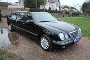2000 Stunning Mercedes E240 6 Door Limousine With Just 56k Miles For Sale