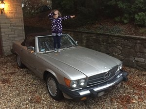 1987 Mercedes 560SL r107 For Sale