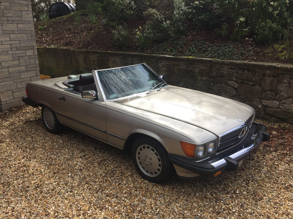1987 Mercedes 560SL r107 For Sale (picture 2 of 6)
