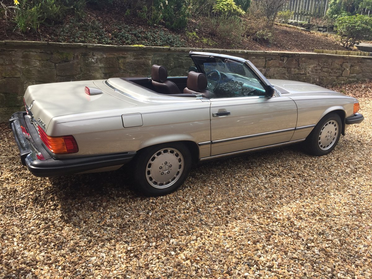 1987 Mercedes 560SL r107 For Sale (picture 3 of 6)