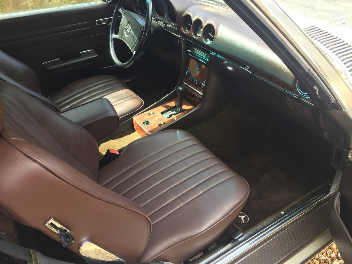 1987 Mercedes 560SL r107 For Sale (picture 5 of 6)