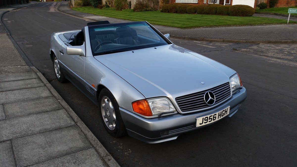 1991 Mercedes 300SL 24v Low Mileage SOLD (picture 1 of 5)