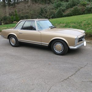 1970 Mercedes 280 SL Pagoda For Sale by Auction For Sale by Auction
