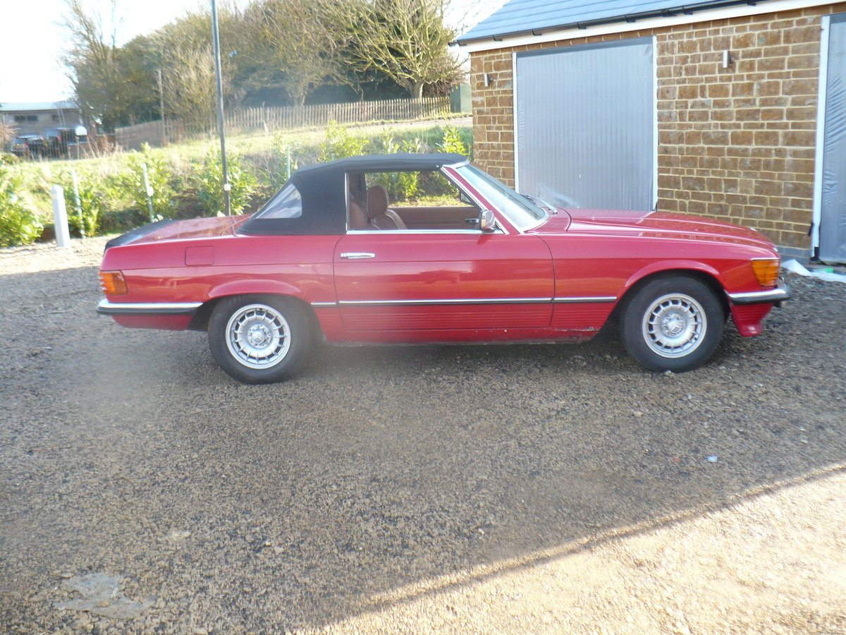 mercedes 350 sl 1978 For Sale (picture 1 of 6)