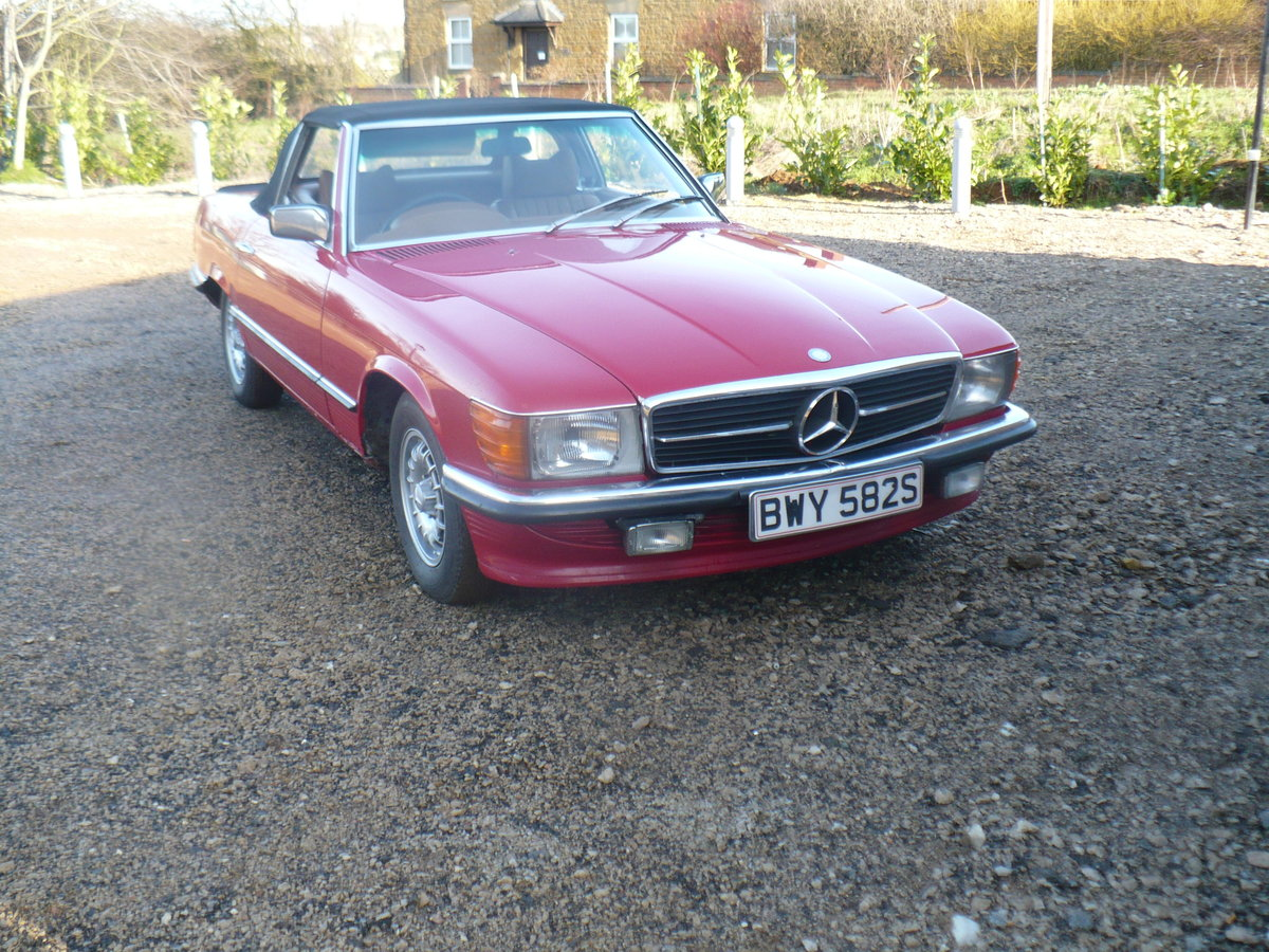 mercedes 350 sl 1978 For Sale (picture 3 of 6)