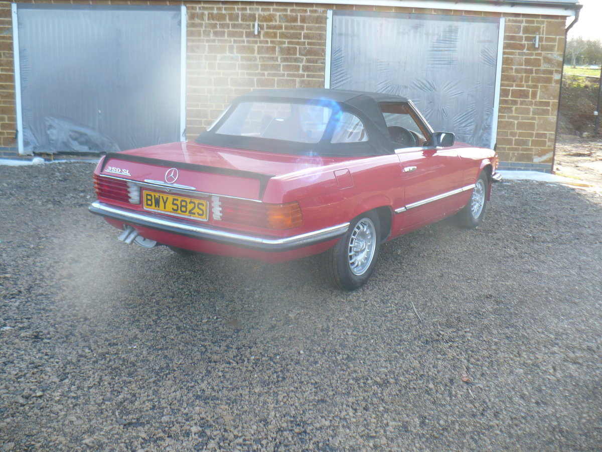 mercedes 350 sl 1978 For Sale (picture 4 of 6)