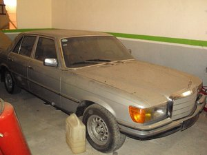 1976 Mercedes w116 280se For Sale