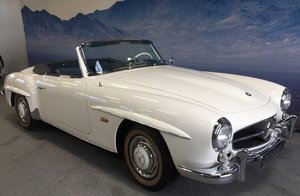 1961 Mercedes 190 SL with Hardtop SOLD