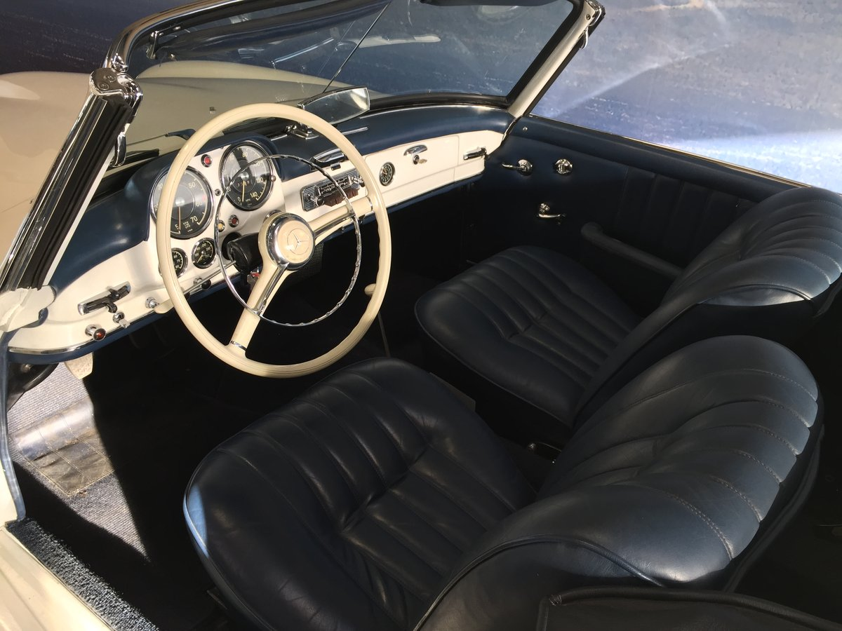 1961 Mercedes 190 SL with Hardtop For Sale (picture 6 of 6)