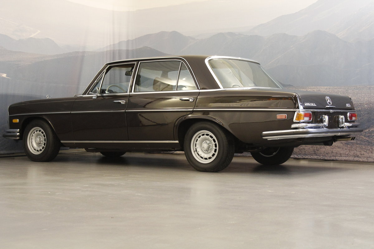 1973 Mercedes 280 SEL 4.5 V8 Aut. For Sale (picture 2 of 6)