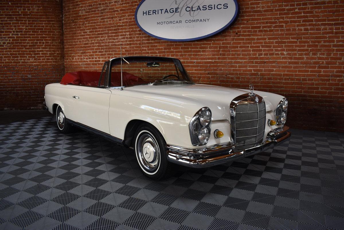 1967 Mercedes-Benz 250SE Cabriolet  SOLD (picture 1 of 6)