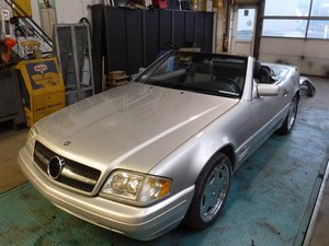 1997 Mercedes 600SL roadster '97  V12