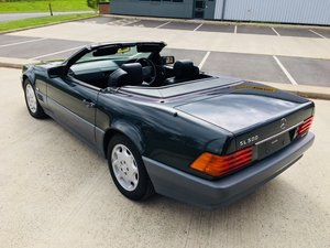 1993 MERCEDES 500SL R129 V8 JAPANESE IMPORT LOW MILES ZERO RUST For Sale